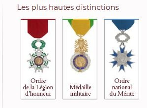 HAUTES DISTINCTIONS